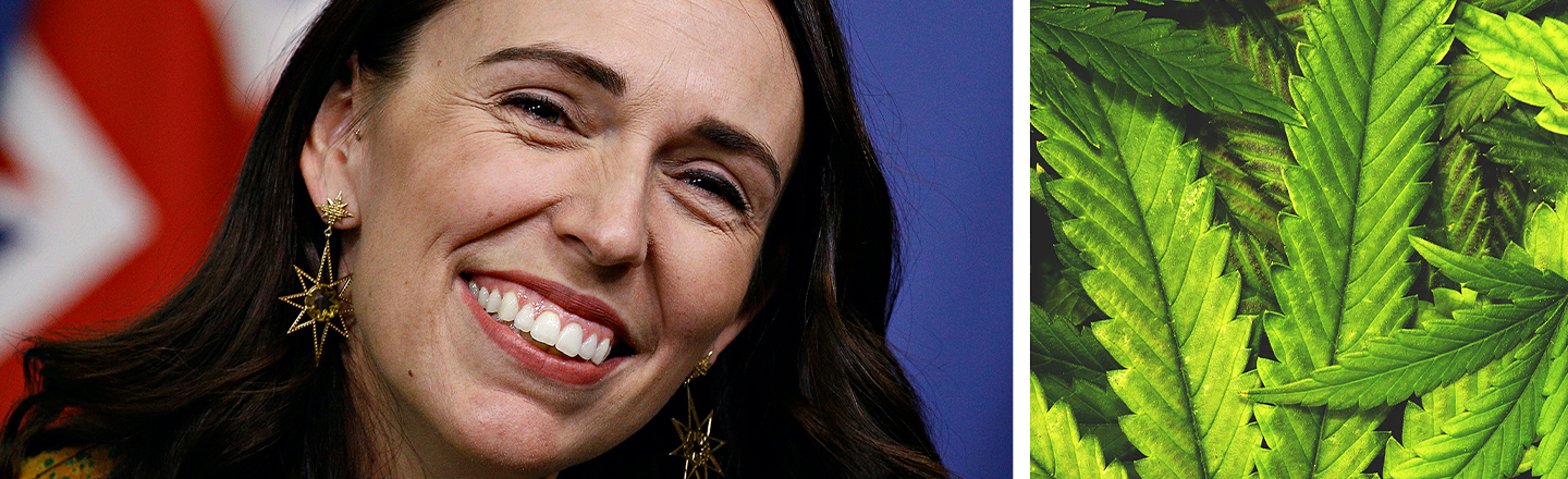 New Zealand Prime Minister Says She Smoked Weed, Nobody Cares