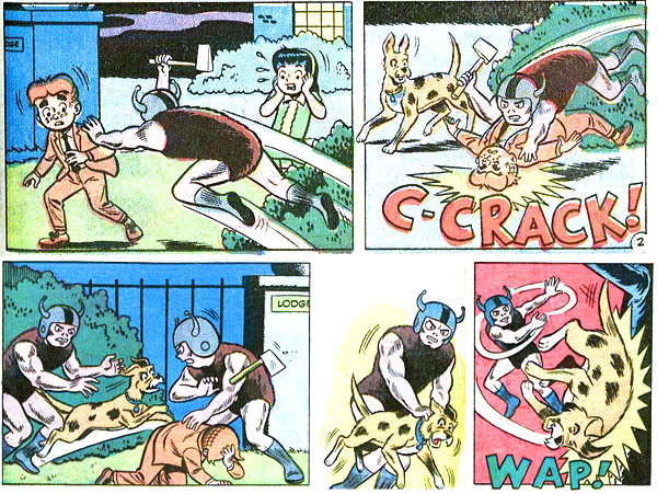 8 Bizarre Horrors Found in the Squarest Comic Book Ever