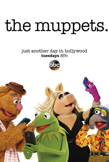 4 Things I Learned Working With Rip-Off Muppets - a poster for The Muppets on ABC