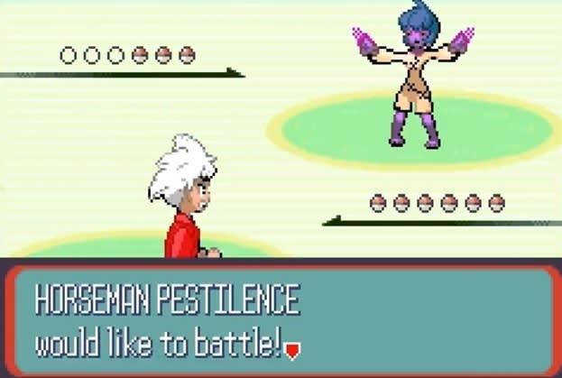 0006e Geeeee HORSEMAN PESTILENCE would like to battle!
