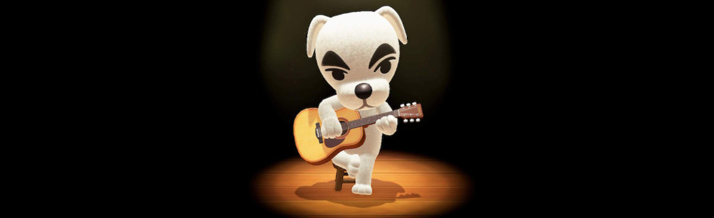 People Are Inserting K.K. Slider From 'Animal Crossing' Into Real Albums