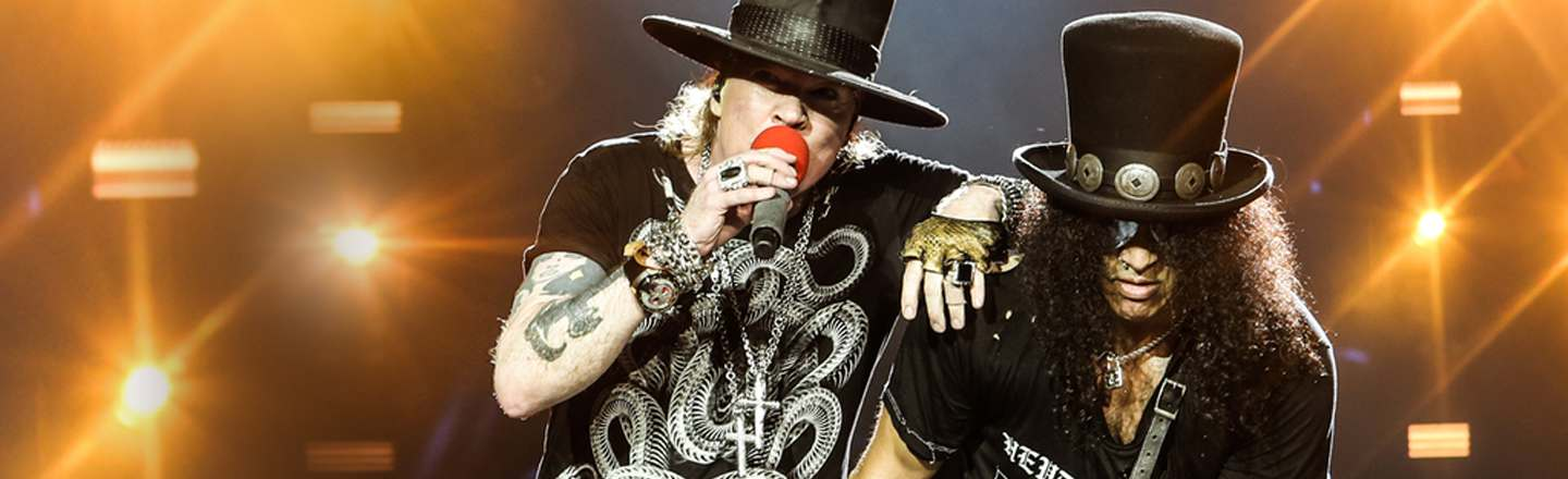 4 Unsettling Realizations At A Guns N' Roses Reunion Show