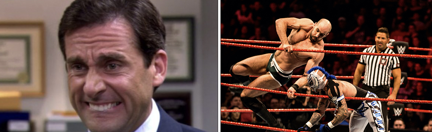 WWE Is Now Getting 'The Office' Treatment at Peacock