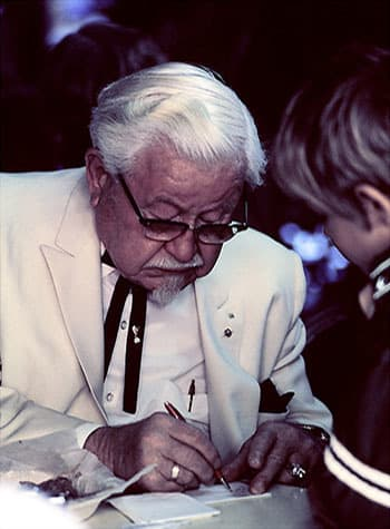 The Real Colonel Sanders Was A Relentless, Amazing Maniac