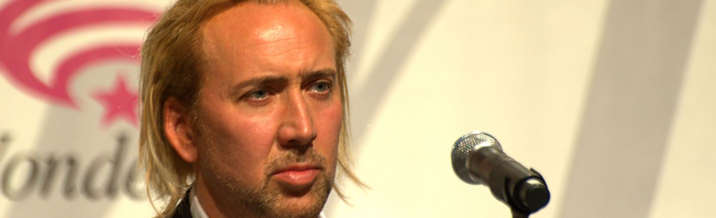 Nic Cage, In The Role He Was (Maybe) Born To Play