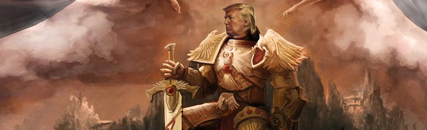 5 WTF Ways Trump Has Been Immortalized As Artwork