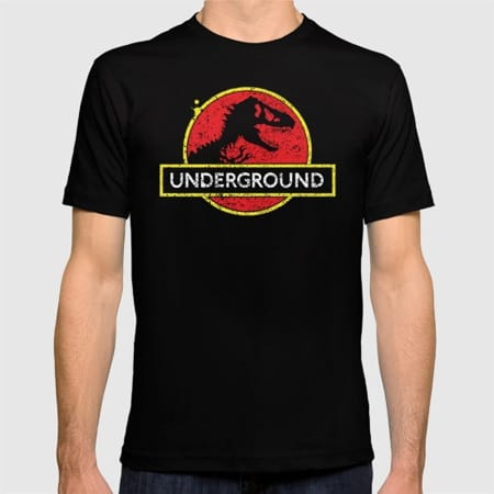 We're Busting Out Our Most Dino-tastic T-Shirts Just For You