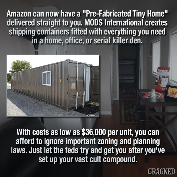Amazon Will Deliver Entire Homes To Your Home