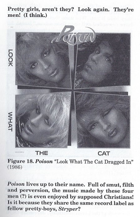Pretty girls, aren't they? Look again. They're men! (I think.) lie LOOK WHAT THE CAT Figure 18. Poison