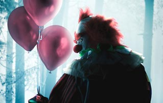 Love Can Be Scary And Confusing ... Just Like A Valentine Clown