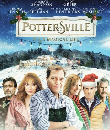 The 'What?' Christmas Movie We Can't Believe Is Real - the poster for the film Pottersville