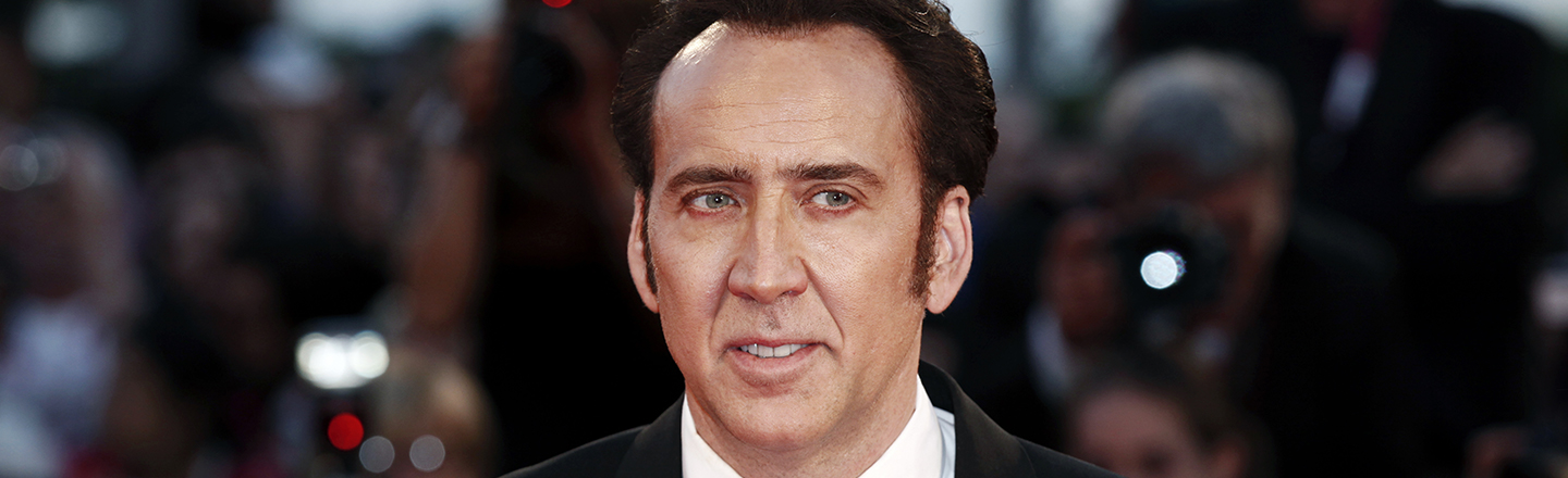 Nicolas Cage Says He Only Gambled Once, Won $20,000, and Immediately Donated His Prize To An Orphanage