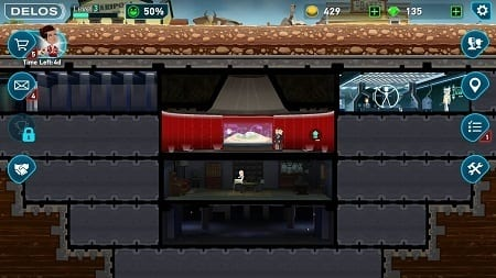 <i>Fallout Shelter</i> and the <i>Westworld</i> mobile game, respectively.