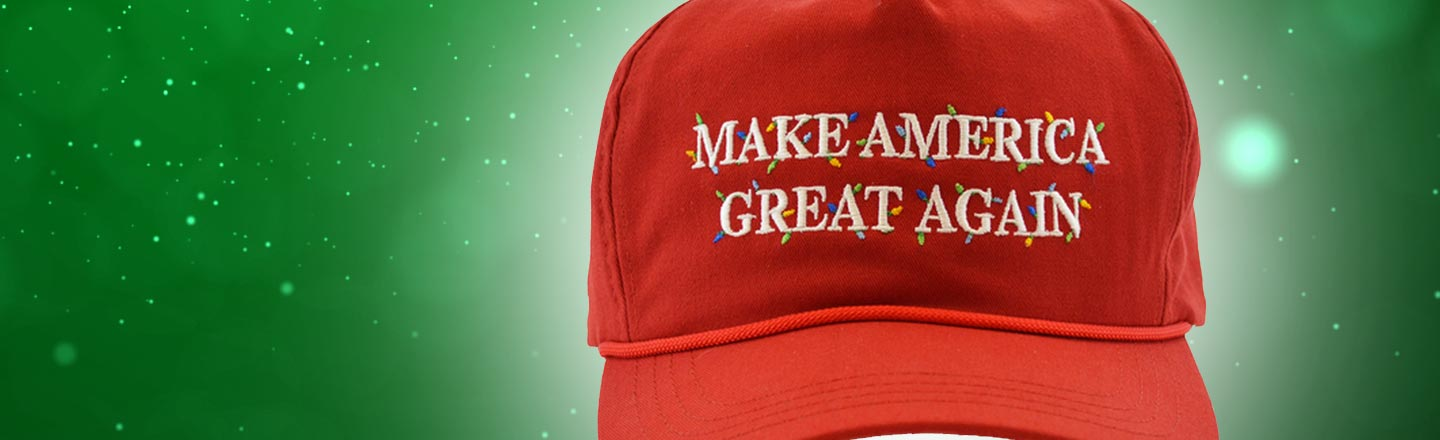 You Can Buy Christmas MAGA Hats To Alienate Your Family