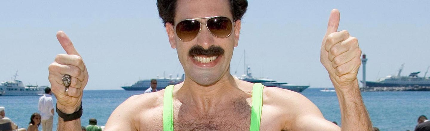 Tourists Fined For Borat Costumes Don't Realize It's 2017