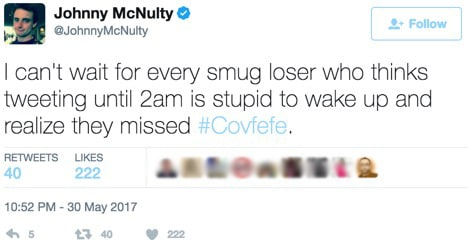 We're Ending The 'Covfefe' Thing Right Now. You're Welcome.