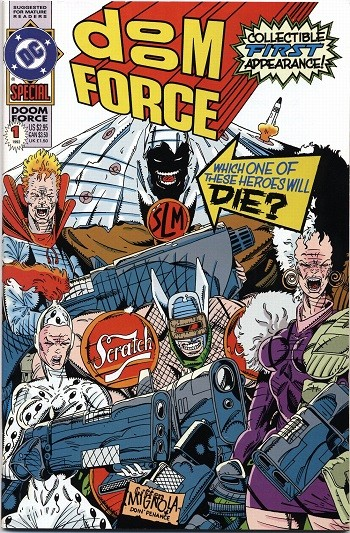 5 Forgotten Times Marvel and DC Trolled Each Other Hard - The Doom Force special, a parody of X-Force