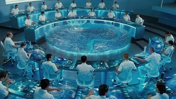 Maybe instead of holographic supercomputers, they could buy District 12 a few fruit trees?
