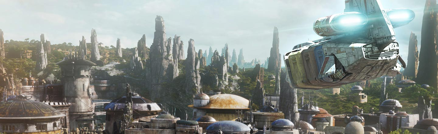 The New Star Wars Theme Park's On Another (Fictional) Planet
