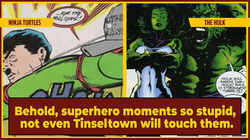 5 Eyebrow-Arching Superhero Stories Hollywood'll Never Make