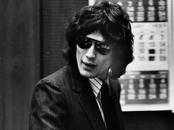 That's right, officer, <i>exactly</i> like '70s Mick Jagger.