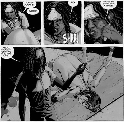 4 Walking Dead Comic Book Scenes The Show Had To Tone Down