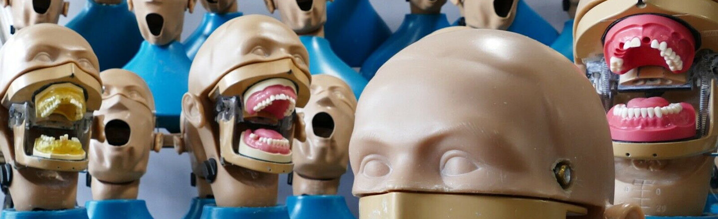Gaze Upon The Toothy Horror That Is Dental Practice Dummies