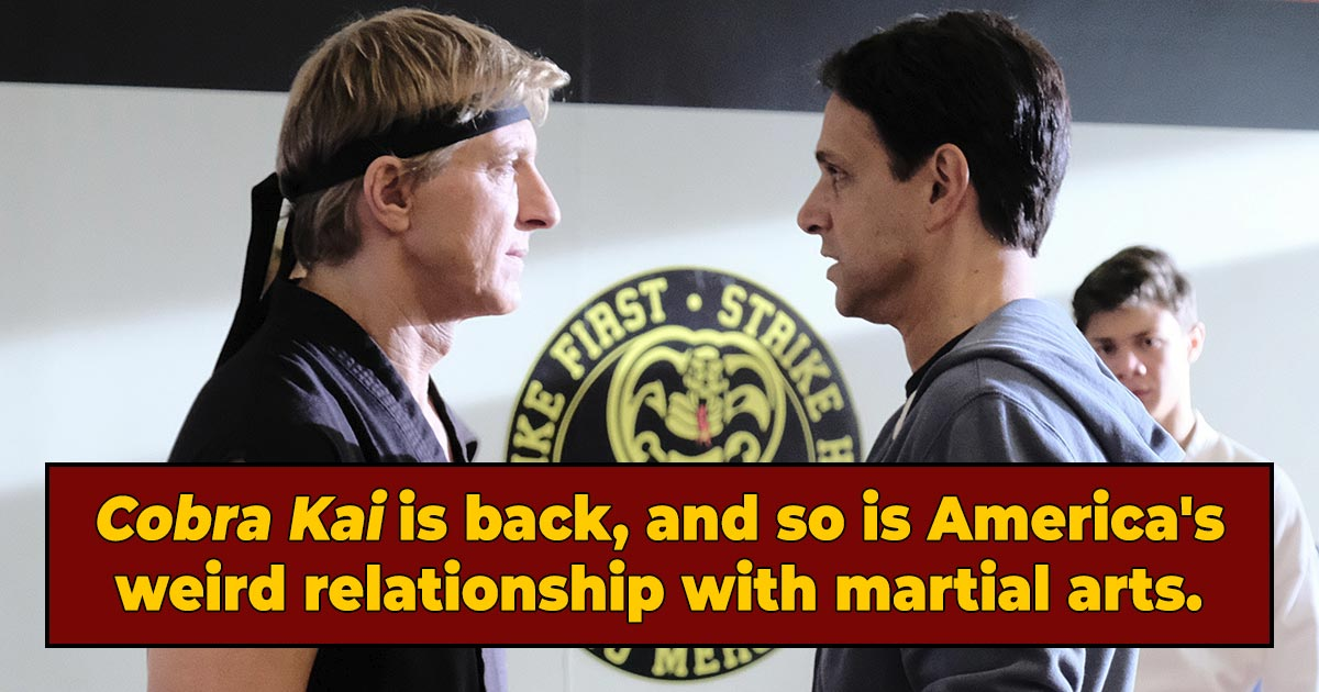 'Cobra Kai' And America's Weird Old Anti-Karate Hysteria