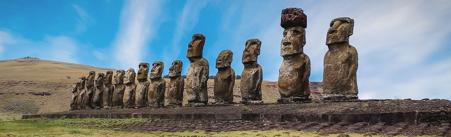 Pour One Out For The Easter Island Statue That Was Decapitated By A Truck