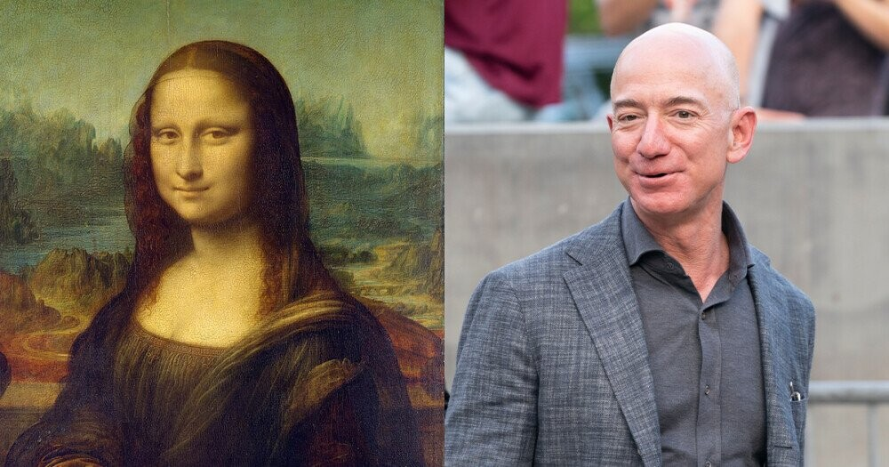 Petition Demanding Amazon CEO Jeff Bezos Buys and Eats the Mona Lisa Goes Viral