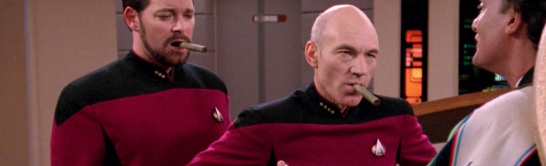 Star Trek Mens TNG Season 5 Episode 2 Tank Top