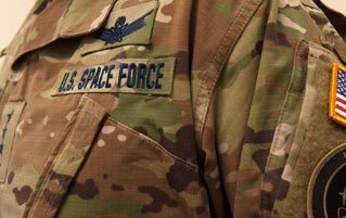 The Space Force's Jungle Camo Uniforms Really Suck
