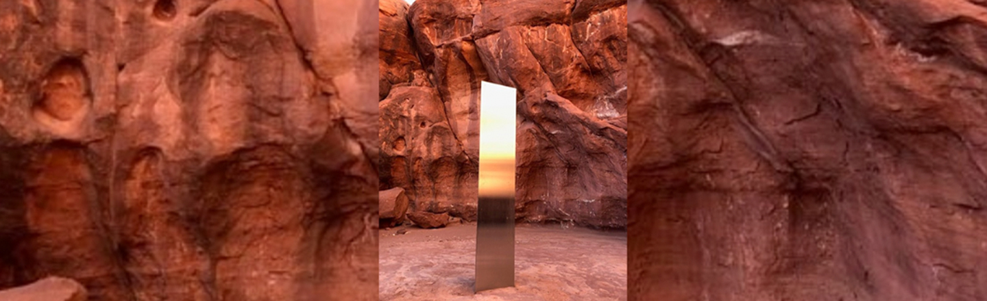 Update: That Mysterious Utah Monolith Has Now Mysteriously Disappeared