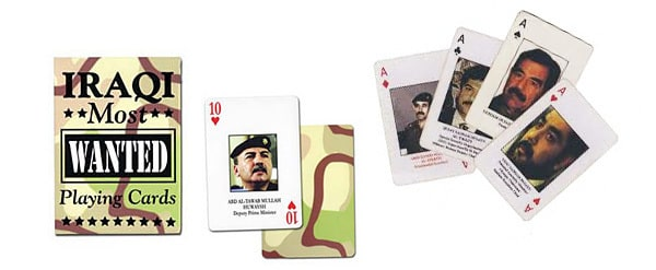 Do you have any bomb makers who killed three of their wives in a training accident?<br> Go fish.