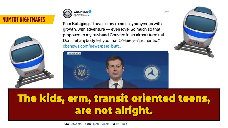 Teen Transit-Enthusiasts Roast Pete Buttigieg