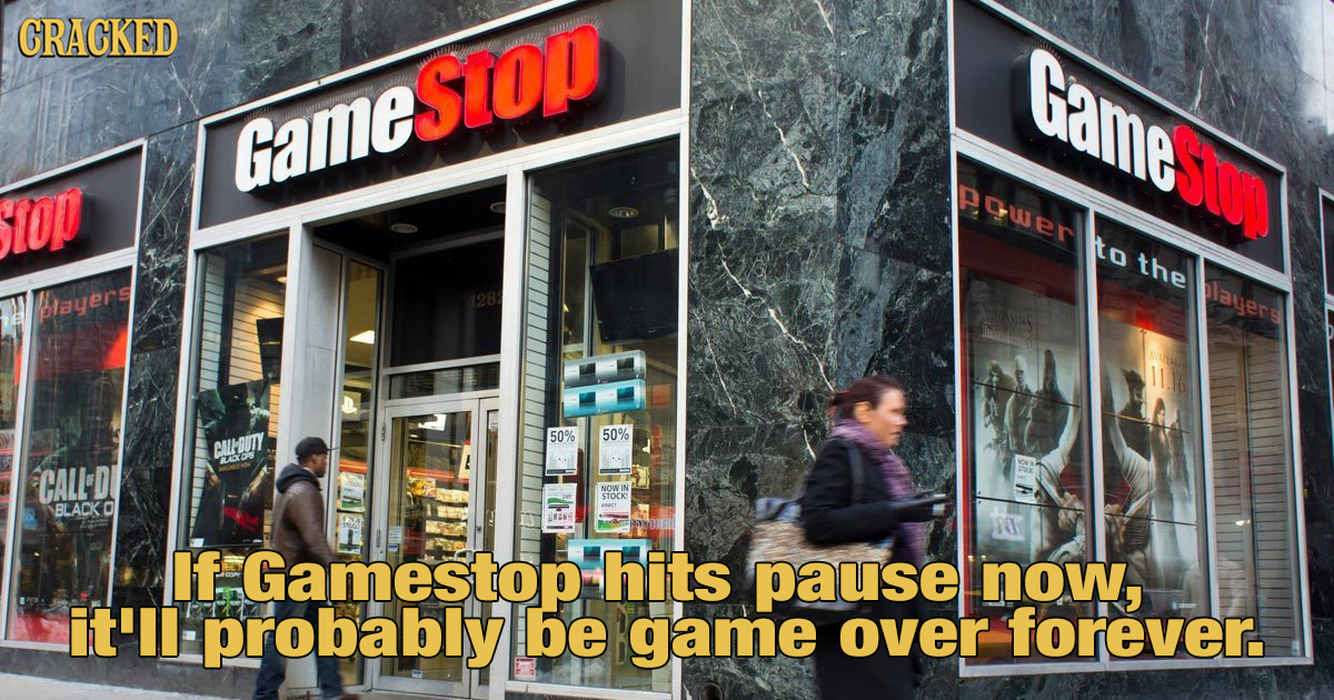 Gamestop Is Still Open And Essential