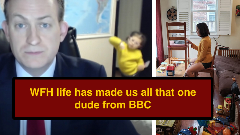 In 2020, Everybody Working From Home Is 'BBC Dad'