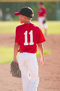 Luckily, for a kid to care about you missing their little league game, they have to give a shit about little league in general ... which they don't, so you should be good.