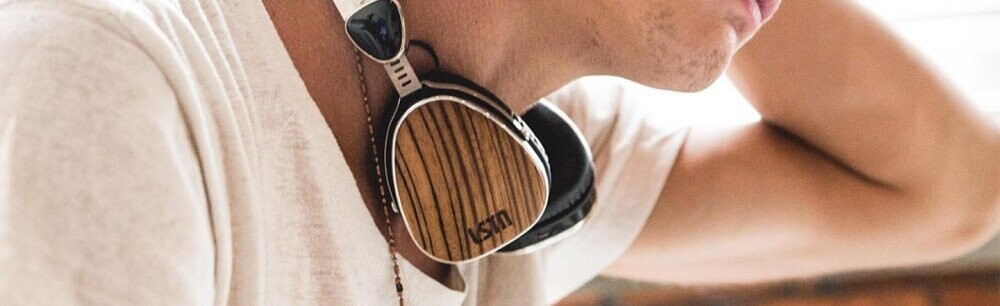 These Retro Hardwood Headphones Give Back More Than Just Sound