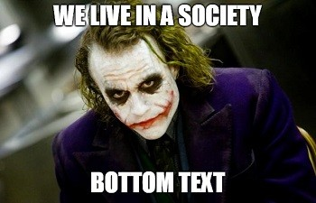 The Early Obstacles On Joker's Path To Comic Icon | Heath Ledger Joker meme