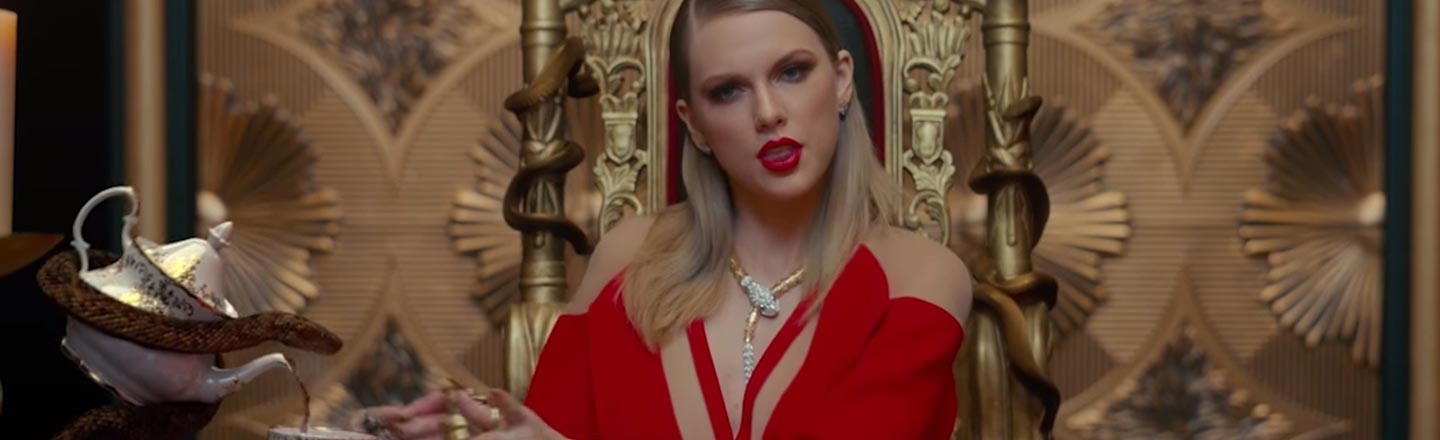 Taylor Swift Is On Road Signs To Stop You From Dying