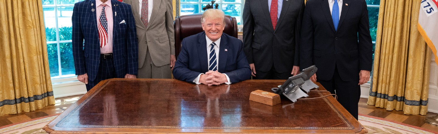 Sorry, The Oval Office 'Diet Coke Button' Predates Trump By Decades