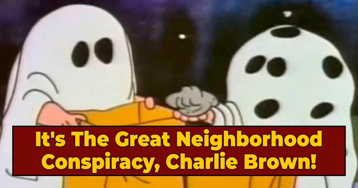 The Sinister Secret Subtext In 'The Charlie Brown Halloween Special'