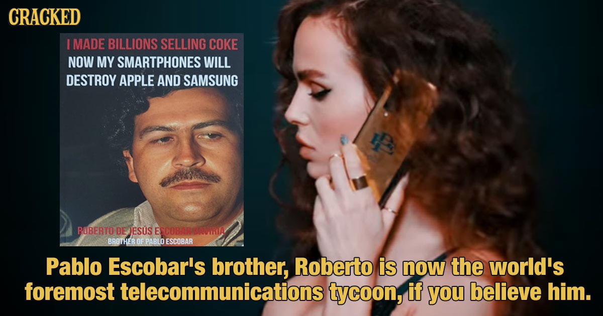 The Official Pablo Escobar Phone Saga Is Bonkers