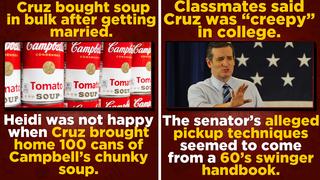 3 Strange Stories That Prove Ted Cruz Was Always a Dweeb