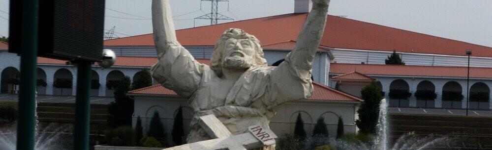 Lightning Destroyed One Megachurch's Giant Jesus Statue
