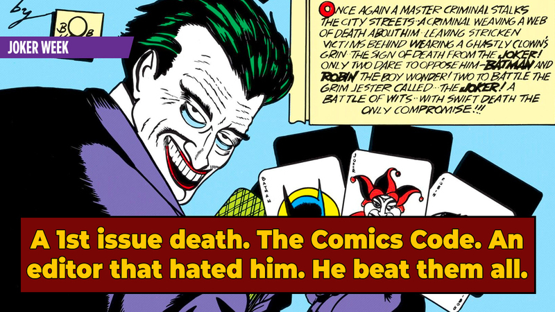 The Early Obstacles On Joker's Path To Comic Icon