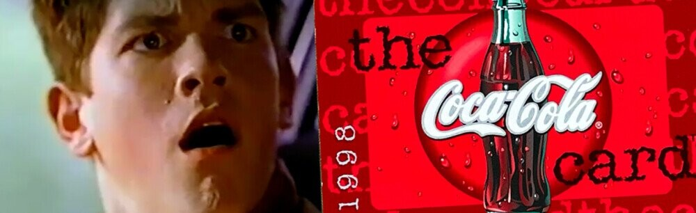 Coke's Bizarre Fake Credit Card for 90s Teens (VIDEO)