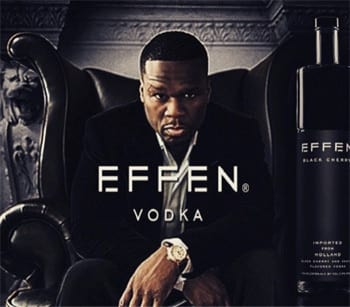 Effen is, of course, a <a href=https://www.wordsense.eu/effen/ target=_blank>Dutch children's game</a> about number guessing. Wait, unless 50 Cent meant it like Fuckin' Vodka? Oh 50, that's naughty!