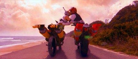 The Craziest Karate Robot Motorcycle Movie Ever Made